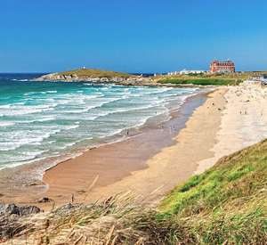 Two nights for 2 at the Pentire Hotel (Cornwall) + Full English Breakfast & A glass of wine each on arrival £22.25pppn = £89 @ Travelzoo (Other Cornwall offers in OP)