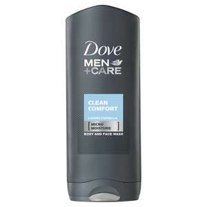 Dove Men +Care Large 400ml Shower Gel £1 in Poundland