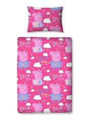 Peppa Pig Toddlers duvet set £1.30 instore @ Asda
