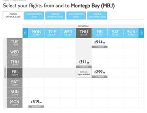 Gatwick to Montego Bay for 14 nights £299 at TUI