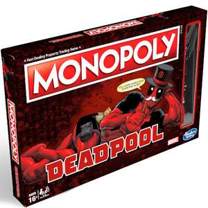 Deadpool Monopoly £21.59 w/code (BOARDFLASH) @iwoot (15% off all other orders w/code (LATE15)