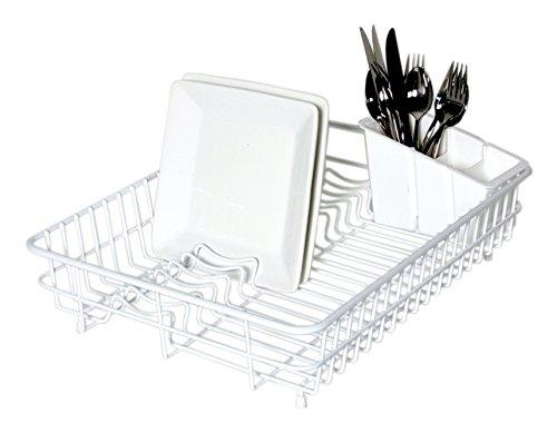Delfinware Large Dish Drainer, White £15.86 Prime / £19.85 Non Prime @ Amazon.co.uk