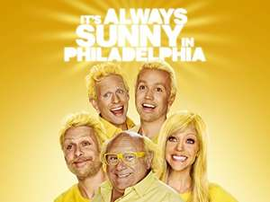 It's Always sunny In Philadelphia digital seasons £4.99 each Amazonvideo