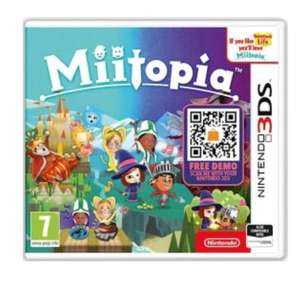 Miitopia (3DS / 2DS) , £16.99 (used) delivered @ Grainger Games
