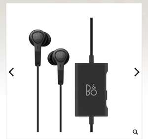 Bang & Olufsen BeoPlay E4 Active Noise Cancelling Stereo Earphones - Black , for £159.20 delivered @ Maplin