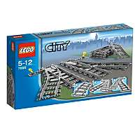 LEGO City - Train Switch Tracks - 7895 £11.97 @ Asda Direct, click n collect