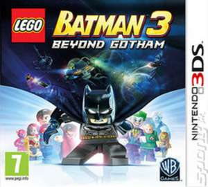 LEGO Batman 3: Beyond Gotham Nintendo 3DS , for £9.89 (used) delivered @ MusicMagpie