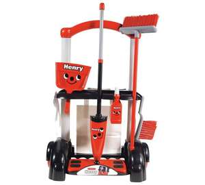 Casdon Henry Toy Cleaning Trolley now £9.74 C+C @ Tesco Direct (Save 25% on selected Casdon Pretend Play Promo - more in OP)