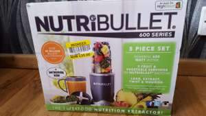 Nutribullet 600 series Tesco in-store Strood - £25