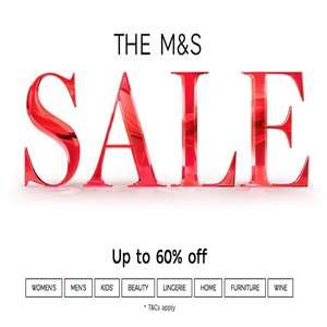 M&S sale now live (for everyone) - up to 60% off