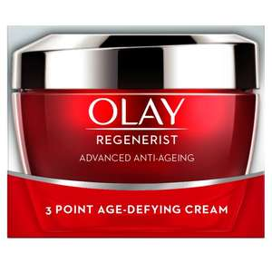 Olay Regenerist 3 Point Anti-Aging Day Cream 50Ml Half Price RRP £30 TESCO - £15