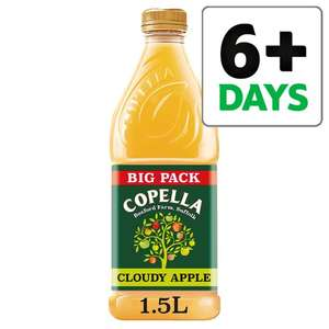 Copella Cloudy Apple or Apple & (Elderflower, Lavender, Blackberry) Juice 1.5litre 1/2 Price now £1.50 @ Tesco