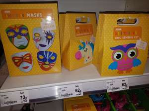 Asda make your own kits - 62p instore (Hunts Cross)