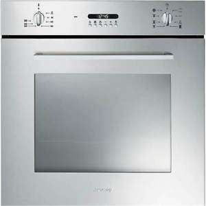 Smeg Cucina SF478X 60cm Multifunction Oven New Style Controls in Stainless Steel £269 with code @ co-op ebay