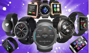 Smart watch mystery deal £9.95 (standard deal) / £14.95 (premium deal) + £1.99 delivery @ groupon