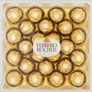 Ferrero Rocher 24 Pieces 300g 50p + £5.99 del with box upto 25kg @ approvedfood