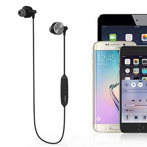 AUKEY Bluetooth 4.1 Magnetic Earphones Stereo Wireless in Ear Sports Headphones with Microphone £5.99 prime / £9.98 non prime Sold by yueying and Fulfilled by Amazon