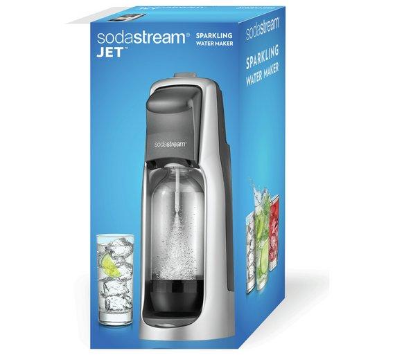 Jet Black Sodastream £29.99 - Original price £59.99 @ Argos