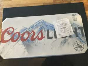 18 x 440ml Coors Light - £12 in-store at Morrisons