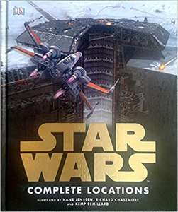 Star Wars Complete Locations (Updated Version) Hardback Book £5.99 with free C&C @ WHSmith