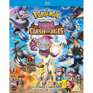 Pokemon The Movie: Hoopa and the Clash of Ages Blu-ray £5.99 delivered @ 365Games