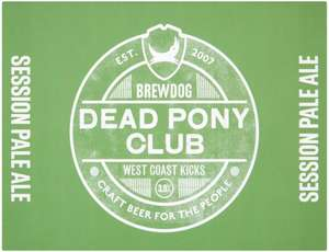 Brewdog dead pony club 12x330ml cans reduced £8 at Asda in store