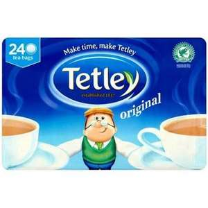 TETLEY TEABAGS 3X240 (720) BAGS ONLY £6.89 @ COSTCO