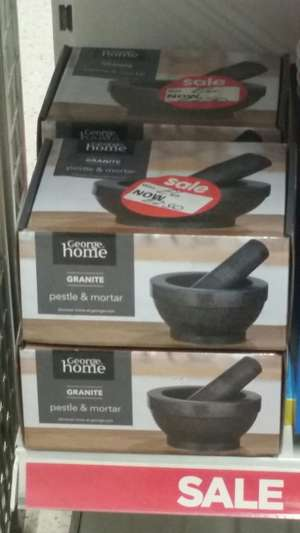 ASDA George Granite pestle & mortar £2.50 instore @ dewsbury