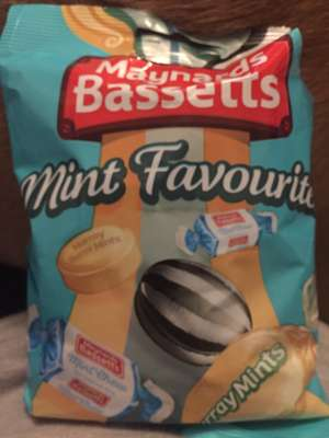 Maynards Bassetts Mint Favourites 192g £1 @ Fulton foods or £1.50 for 2 bags
