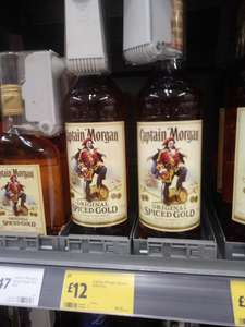 Morgans Spiced 75 cl £12 at Morrisons discount offer