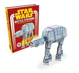 Star Wars: Battle Stations: Activity Book and Model (Star Wars Construction Books) Make Your Own AT-AT £2.80 (Prime) £2.81 (Non Prime) @ Amazon
