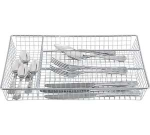 Home chrome cutlery tray £2.49 @ Argos