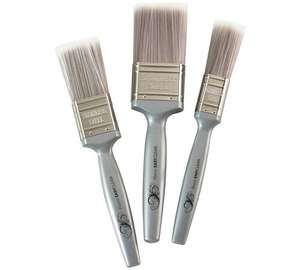 Harris 3 easyclean paint brushes £2.99 @Argos (C&C)