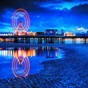 Blackpool - 2 Night Guest House Stay for 2 w/ breakfast  £13.16 pppn = £52.65 @ Wowcher