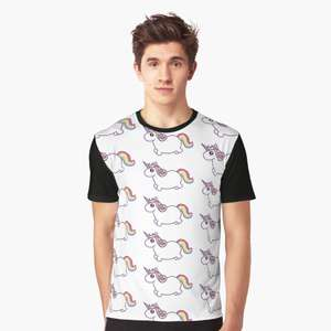 Unicorn t shirts and cool stuff! £19.93 -10% off with sign up voucher code @ RedBubble