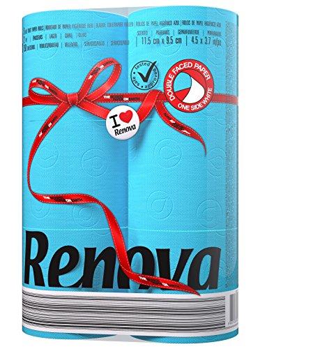Renova Red Label Toilet Paper Blue - 6 rolls £1.50 @ Amazon addon item or S&S (£1.43)