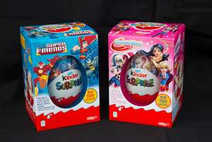 McCOLL'S  2 big kinder suprise toy eggs for £8 ...In stock now
