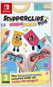 Snipperclips Plus (New) - Grainger Games £18.99