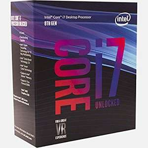 €313 Approx £278 8th Gen Core i7 – 8700 K Processor @ Amazon.de