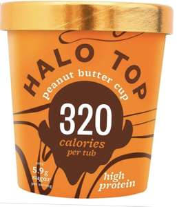 Halo Top Ice Cream Reduced to £3.50 instore @ Tesco Express