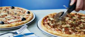 Two main courses for £10 at Pizza Express on 14 March 2018 only