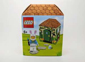 Free Lego Easter Minifigure & Hut With £20 Lego Spend @ Sainsbury's INSTORE
