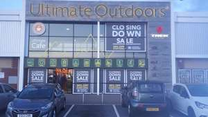 Closing down sale @ Ultimate Outdoors 30 % off. Not 70% off.