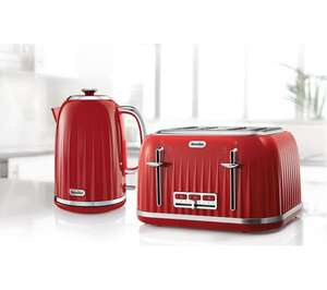 BREVILLE Impressions VKT006 Jug Kettle - Venetian Red £29 @ Currys on eBay