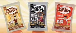 Proper Protein Pops Crisps 19p Each @ Home Bargain
