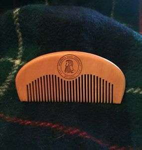 McKenzie Beard Company - Wooden Beard Comb £2.99 @ mckenziebeardco on eBay