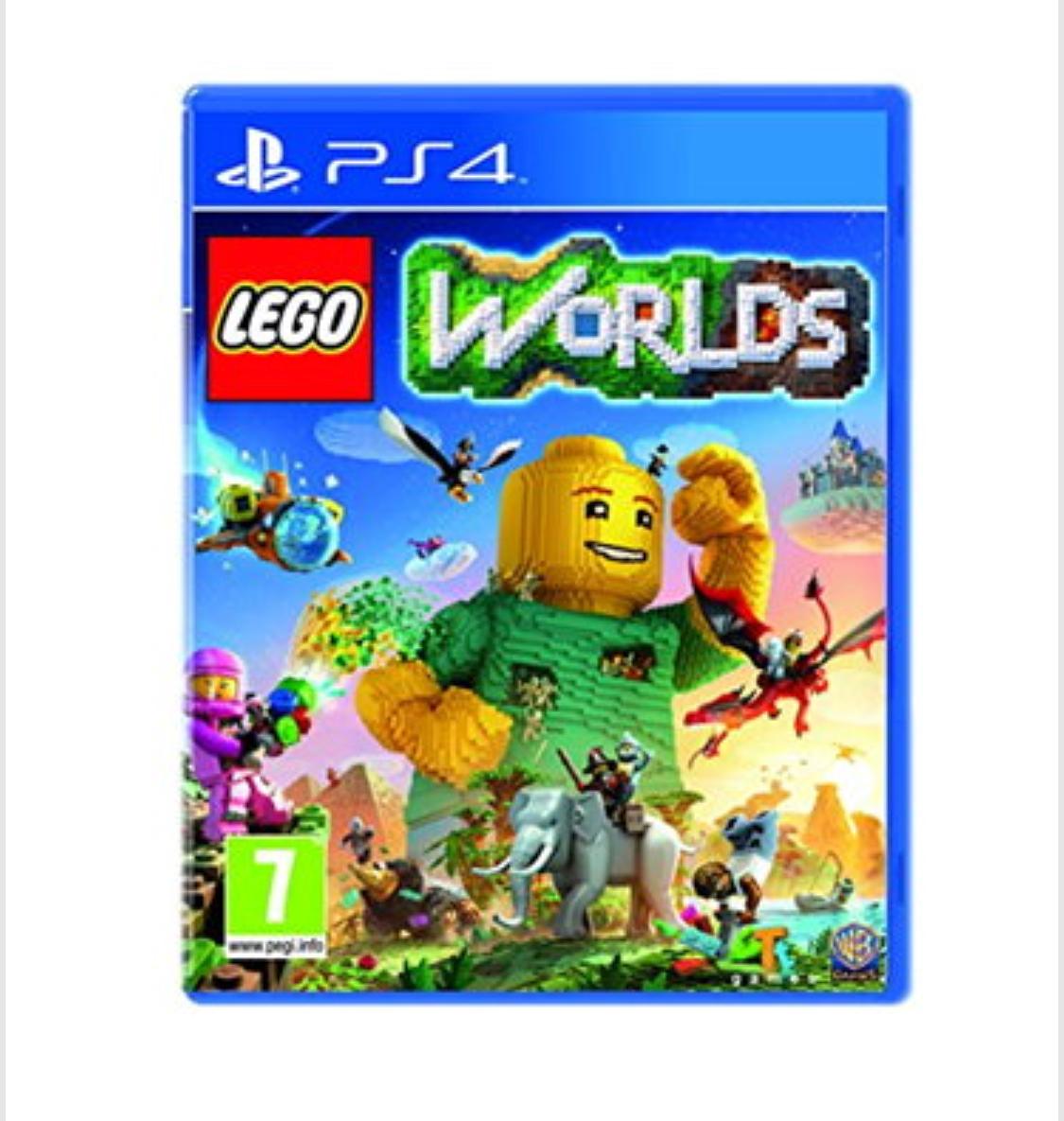 LEGO Worlds (PS4) , for £12.85 delivered @ Base