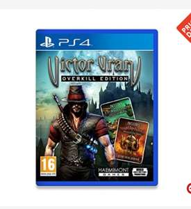 Victor Vran - Overkill Edition , PS4, for £12.59(with code) @ 365Games / Xbox £16.49 @ Base