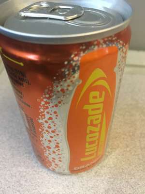 Free Lucozade Drink at London Waterloo station