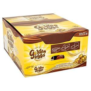 Galaxy Golden Eggs Bag, 72 g, Pack of 22 - £16.50 (Prime) / £21.25 (non Prime) at Amazon